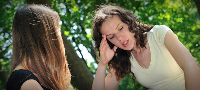 Cómo hablarle a una amiga que ha tenido un aborto